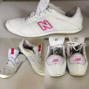 New Balance,474 Lace Up Leather Running Shoes